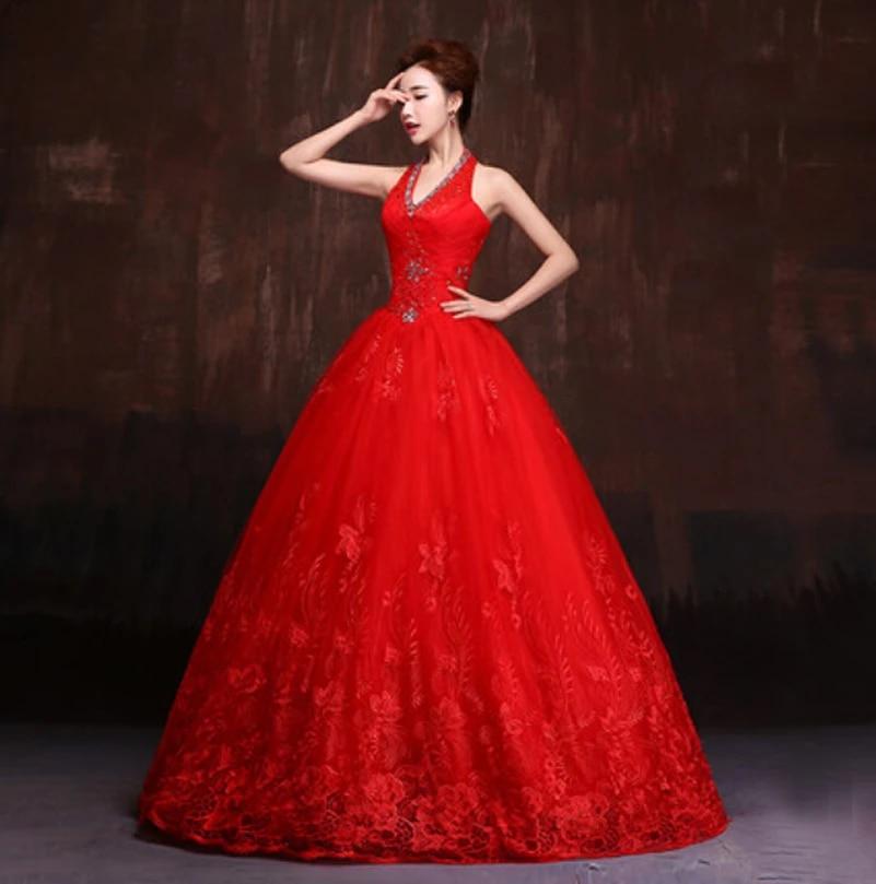 Graceful Spitze Roten Hochzeitskleid Kostengunstige Ballkleider Brautkleid Lang Online 2016 China Indische Brizal Vestido De Noiva Rendas Vestido De Noiva Renda Gowns Bridalbridal Dress Aliexpress