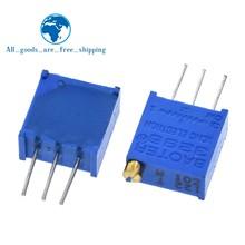 Potenciómetro para Arduino, 1 paquete de 100 Uds., 3296W, 1k, 2k, 5k, 10k, 20k, 50k, 100k, 200k, 1M, 1ohm