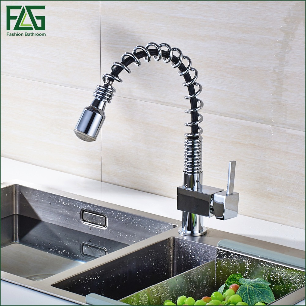 popular red kitchen faucets buy cheap red kitchen faucets lots house scenery tap kitchen faucet copper chrome rotatable green red blue 3 color light