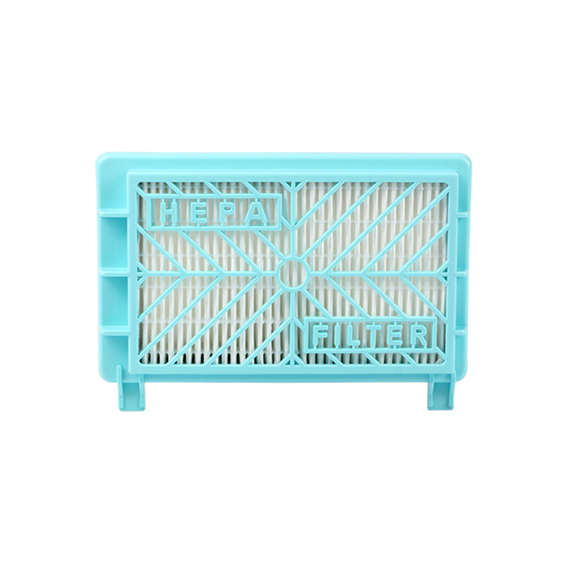 One pieces blue long hepa filter and the original of vacuum cleaner parts replacement for air hepa filter HR8981 HR8568/D linear phase bernstein filter for equalized the distorted chrominance