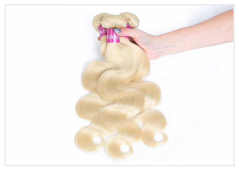 HTB174WTaPzuK1Rjy0Fpq6yEpFXa6 Monstar Brazilian Hair Weave Bundle Deals 613 Honey Blonde Body Wave Remy Human Hair Bundles with Closure 13x6 Lace Frontal
