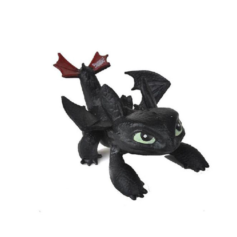 2019 How To Train Your Dragon Toys Night Fury Dragon Plush Doll Toys Toothless Dragon Action Figure Toys Children Kids