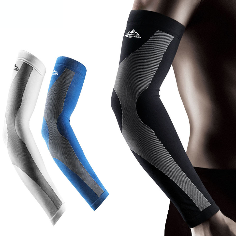 2PCS UV Protect Cycling Arm Sleeve Warmer Bike Bicycle Basketball Running Arm Sleeves Men Women Sports Arm Warmers Cover