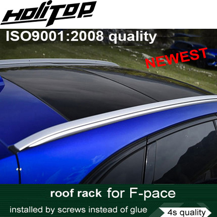 new arrival roof rail roof bar luggage rack for Jaguar F-PACE Fpace F pace, installed by screws instead of glue,safe&stable покрышка maxxis pace 29x2 1 60 tpi мтб tb96667000