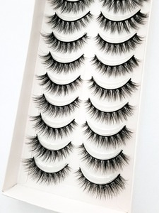 Image 4 - Yeni 5/10 pairs doğal yanlış eyelashes takma kirpik uzun makyaj 3d vizon kirpik uzatma kirpik vizon kirpik güzellik için 54
