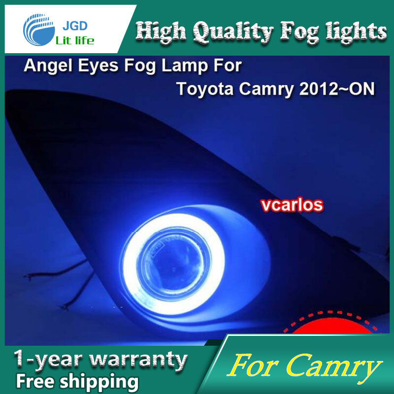 2PCS/Pair Halogen Fog Light For Toyota Camry 2012-2016 High Power Halogen Fog Lamp Auto DRL Lighting Led Headlamp 2pcs pair halogen fog light for toyota avanza 2007 high power halogen fog lamp auto drl lighting led headlamp