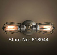 Hot Selling Double Heads Edison Vintage Wall Lamps for Home  Industrial Antique Lighting 110V-240V vintage wall light bed light