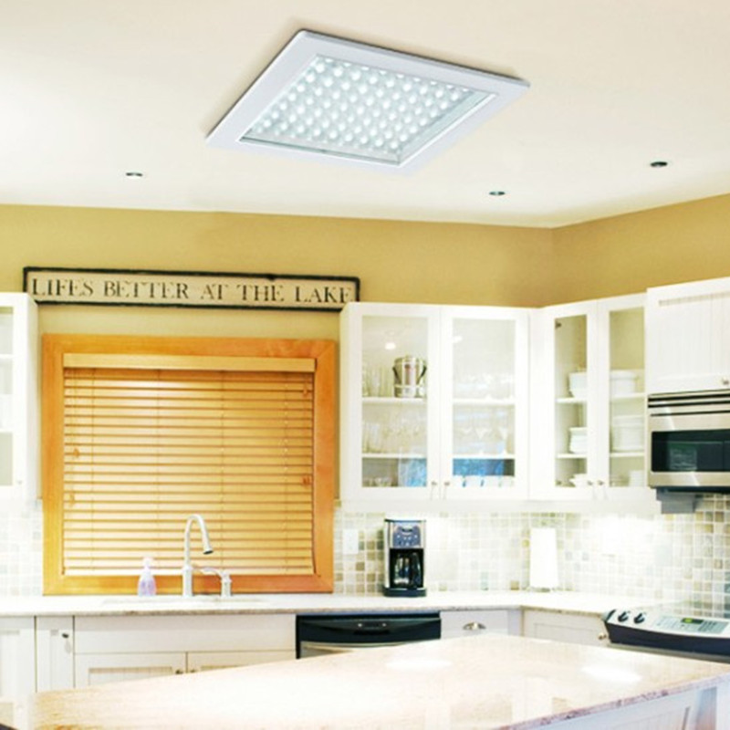 Square/round led ceiling lights embedded kitchen bathroom lights ...