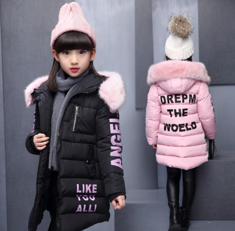 Children's Winter Cotton Warm Jacket Cotton-padded Jacket Cotton-padded Clothes Winter Jacket Parkas for Girl Lively Winter Coat 2016 new fashion winter jacket men high quality brand thickening casual cotton padded keep warm men coat parkas 1358