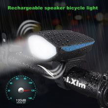 AloneFire Bike Light Head LED Flashlight With speaker bicycle light Multifunction Cycle Lamp MTB Road Cycling Headlight Bicycle