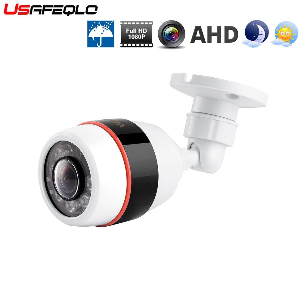 HD 1080P 2.0MP AHD Camera Security 180 Degree Wide Angle Fisheye  IR camera+OSD