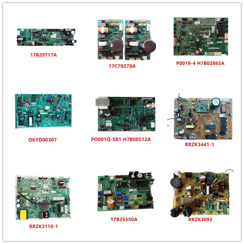 17B29717A  17C70278A  P0018-4 H7B02865A  0KYD00307  PO001Q-SB1 H7B00512A  RRZK3441-1  RRZK3110-1  17B25550A  RRZK3092 Used  Work
