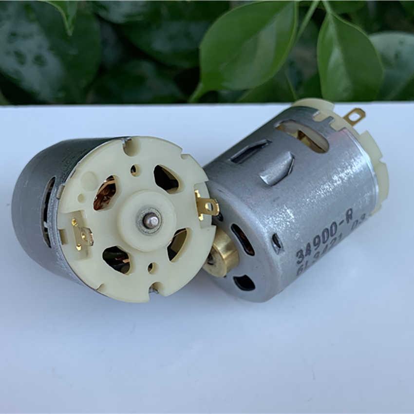 365-1885 DC Micro Motor DC 6.0 V-24 V 6000-25800 rpm Kleine Koolborstel Motor voor Föhn Heteluchtpistool As Dia 2.3mm