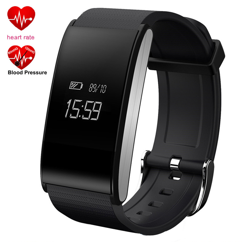 Smart Bracelet Blood Pressure Android Watch Heart Rate Monitor Sport Wristband Waterproof Fitness Tracker A58 Band for Men Women