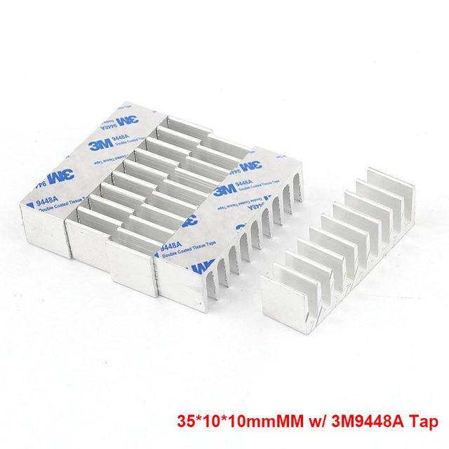 35x10x10mm Aluminum Heat Sink Radiator