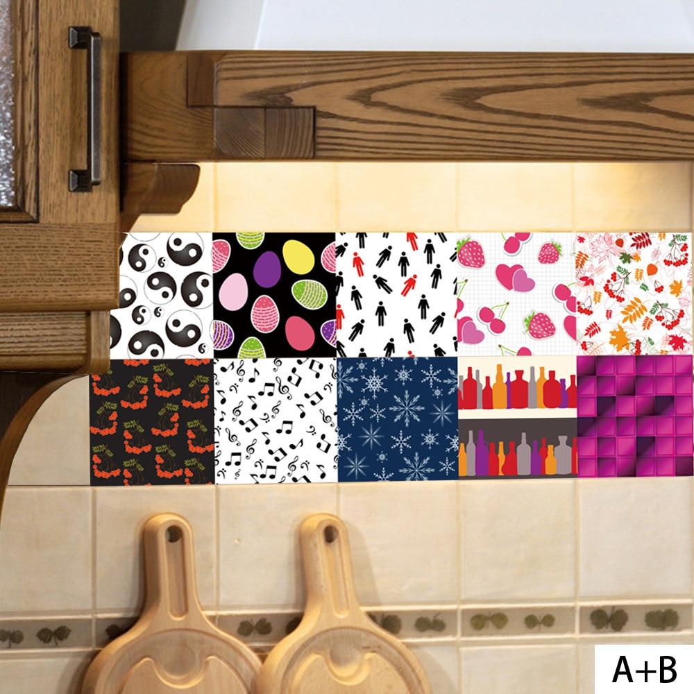 Hot Sale New Arrival Creativity Coloured Ceramic Tile Sticker Music