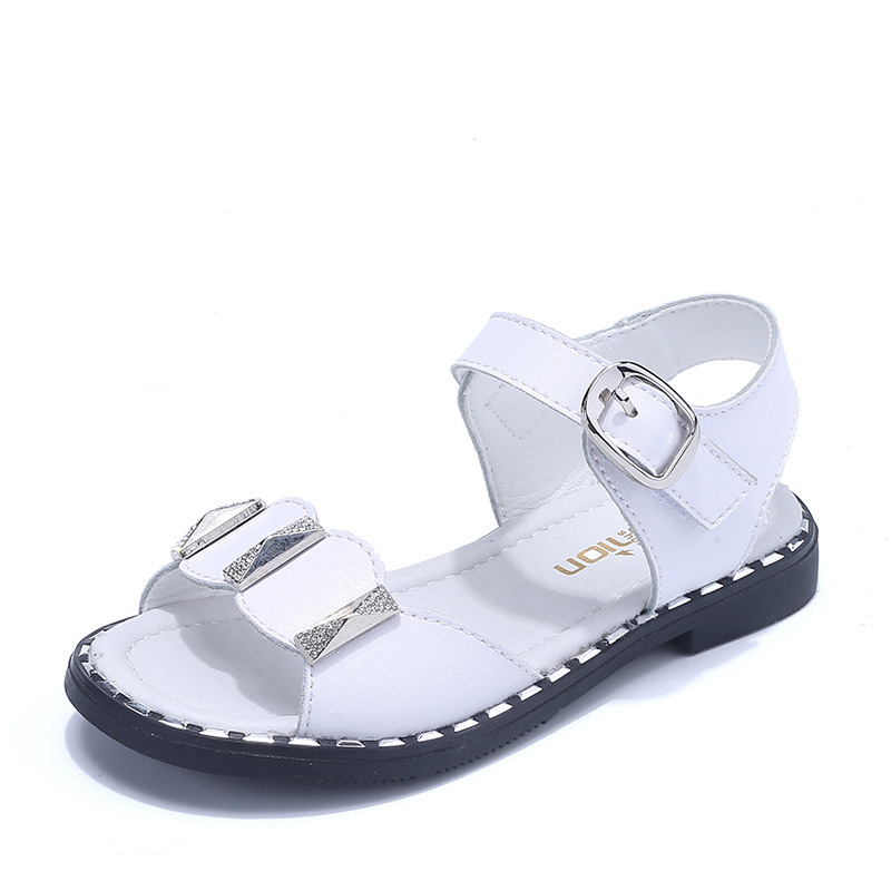 Girls Sequined Buckle Strap Sandals Children Open Toe Soft Leather Shoes Princess School Party Performance Footwear AA51322Girls Sequined Buckle Strap Sandals Children Open Toe Soft Leather Shoes Princess School Party Performance Footwear AA51322