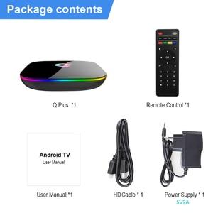 Image 5 - Q artı Allwinner H6 6K akıllı TV kutusu Android 9.0 4GB 64GB 32GB dört çekirdekli USB3.0 Playstore Youtube Q artı Wifi Set Top Box PK T95Q
