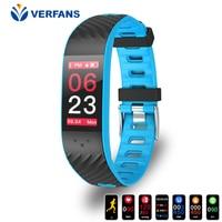 VERFANS P4 Color Screen Waterproof Motion Detection Sleep Monitoring Smart Bracelet Swimming Multilingual Application Color IPS