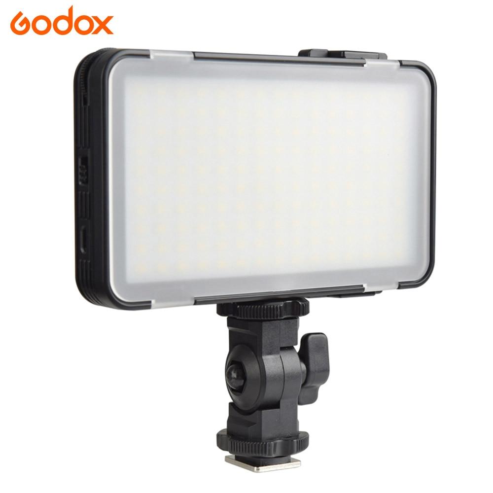 GODOX M150 lampe LED pour selfies lampe 5600 K blanc couleur lumière panneau de LED pour Iphone/smartphone/vidéo/appareil photo maquiagem/photo