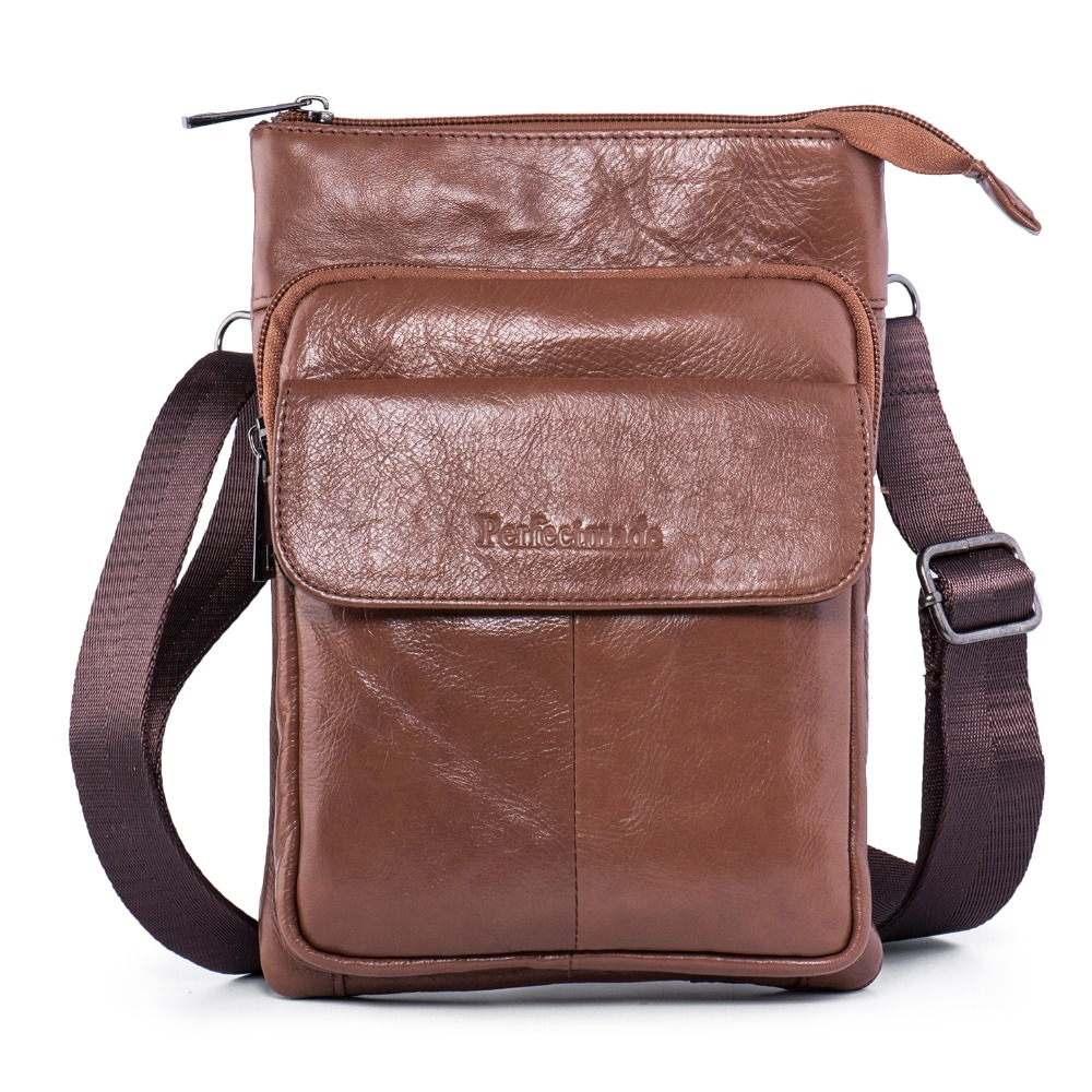 Leather Cross body Messenger Mens Bag, Shoulder Purse Travel Bag Everyday Satchel Bag calvin klein monogram cross body bag