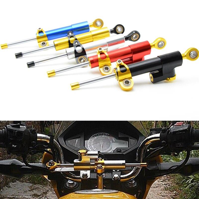 ФОТО Universal Motorcycle Steering Damper For Kawasaki honda ducati Yamaha R1 R3 R6 R15 R25 Mt-07 Mt-09 mt10 MT 07 09 Fz1 Fz6 Fz8