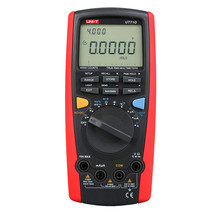 цена на UNI-T Multimete UT71D Digital Intelligent Multimeter LCD AC DC Volt Amp Ohm Hz Temp MultiMeters Auto Range True RMS Multimeter