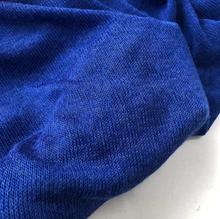 Warm elastic treasure blue yarn knitting thick needle wool fabric Scarf clothing casual wear sweater diy textiles fabric C560