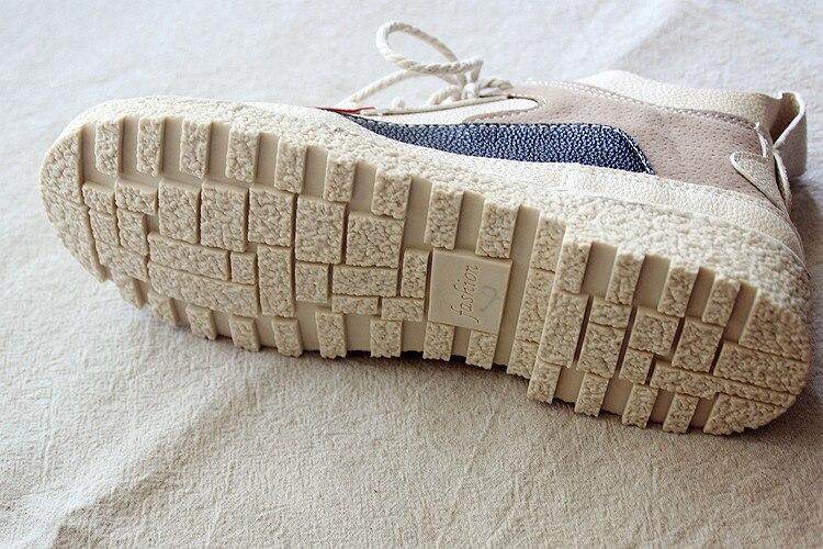 Careaymade-Martin's boots women's shoes, new winter laces short boots, women's boots,the retro art mori girl Flats boots