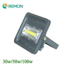 30W/50W/100W LED Flood Light IP66 85-265V Warm/Cold White Spot Light Outdoor Lighting
