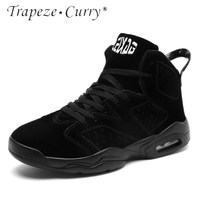New listing hot sale Autumn And Winter Cotton Keep warm men Basketball shoes sports shoes T862