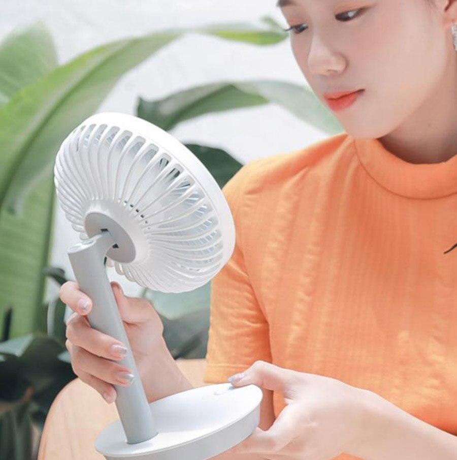 Petit ventilateur Usb muet rechargeable étudiant dortoir bureau mini ventilateur portable petit - 5