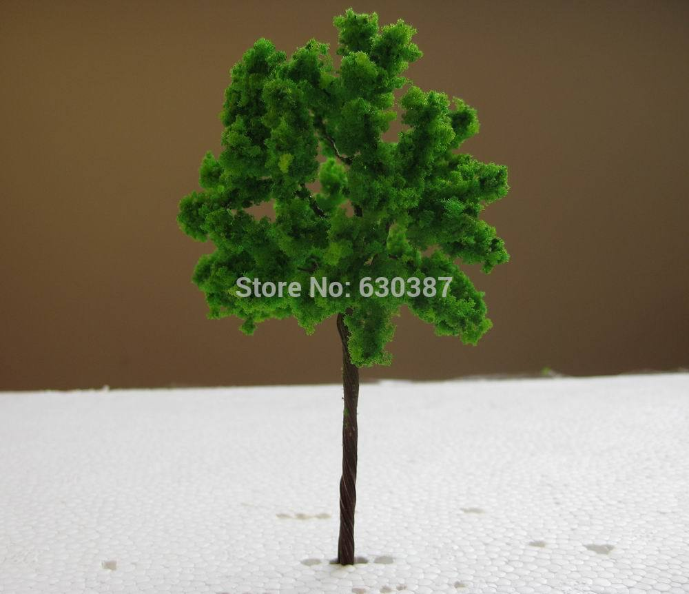 Toys & Hobbies Model Building G11054 Scale Train Layout Set Model Trees Ho 11cm Careful Calculation And Strict Budgeting