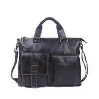New Guaranteed 100 Genuine Leather Men Bags Shoulder Tote Bag Men Messenger Bags Famous Brands Good