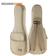21 Inch Ukulele Gig Bag Carry Case 15mm Sponge Soft Stereoscopic Ukelele Mini Guitar Backpack Cover with Double Shoulder Straps