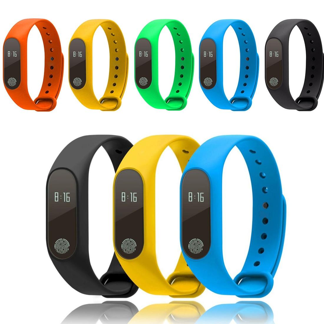 Andando Pedômetro Relógio de Pulso Do Esporte Da Aptidão Pulseira Display Digital LCD Rastreador Esportes Execução Passo Calorie Counter