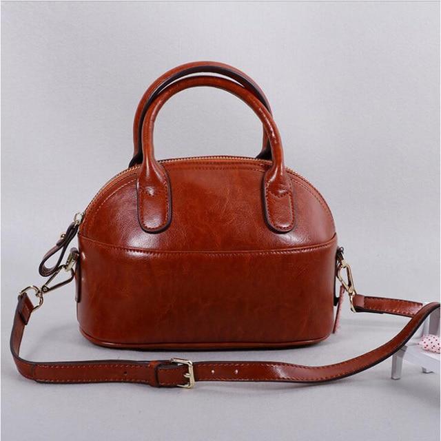 22ba5d3d8da4 Fashion Trend Crossbody Small Messenger Pack Ladies Cow Split Leather Tote  Bags Women Soft Leather Cute Brown Blue Shoulder Bag