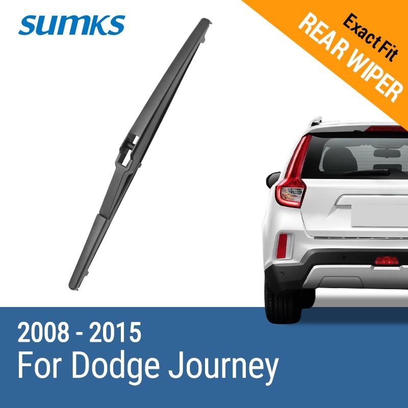 SUMKS Limpiaparabrisas trasero para Dodge Journey 2008 2009 2010 2011 - Autopartes