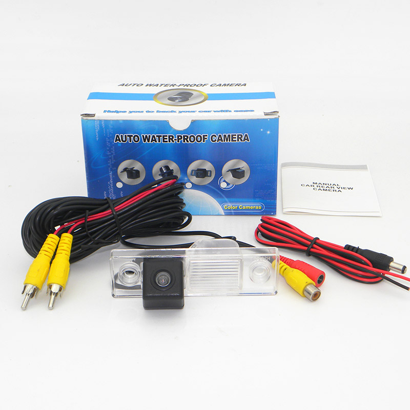 Для Chevrolet Lanos Sens шанс Провода или Беспроводной парковка Камера HD  CCD Ночное видение сзади автомобиля вид Камера RCA AUX 414d07691f4