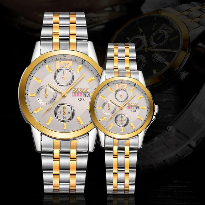 New genuine fashion watch watch men's trend ultra-thin waterproof steel belt female watch couple table Korean korean fashion watch trend simple casual atmosphere sports men s watch student couple watch luminous steel belt female watch