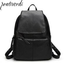 Модная женская обувь из искусственной кожи рюкзаки черные женские backbag для девочек backgpack школьная сумка knappack дорожные сумки весна