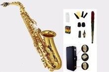 Высокое качество Alto саксофон YAS62 82Z 875EX золотой лак E плоский альт саксофон Топ музыка professional grade выполняя