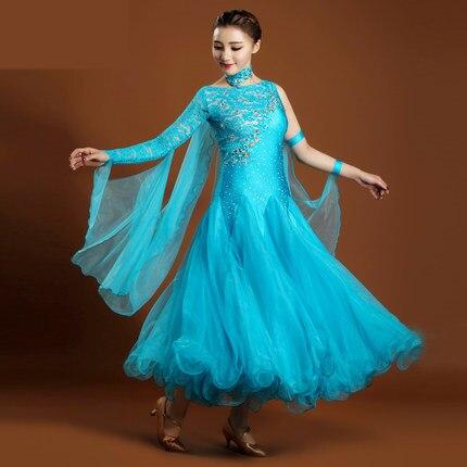 Dresses For Ballroom Dancing Standard 7 Colors Ballroom Skirts Sex Stage Costume Performance Womens Ballroom Dance