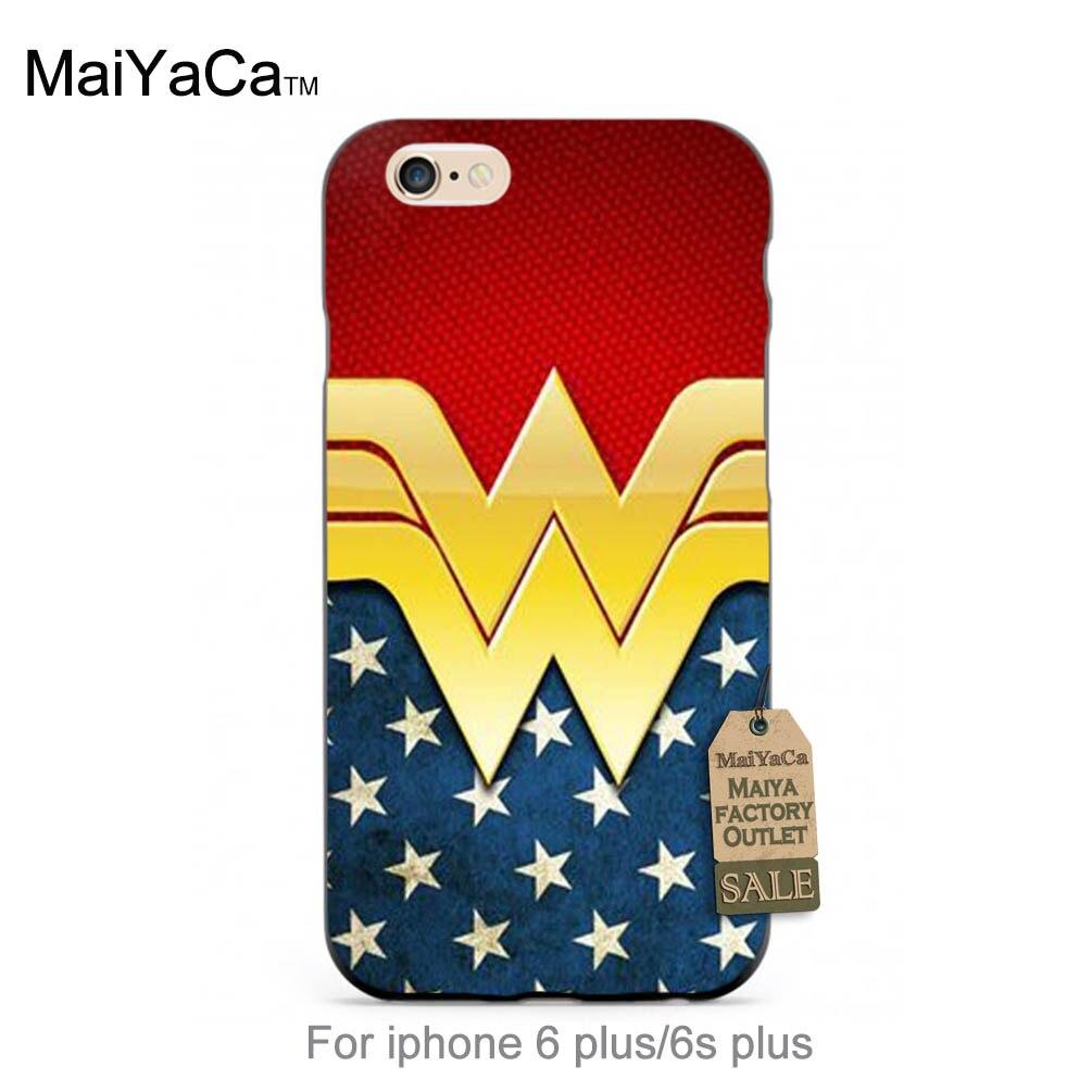 Wonder woman personalizar accesorios del teléfono de dibujos animados clásicos d