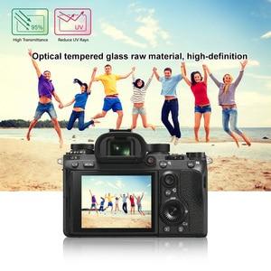 Image 5 - PULUZ 1pc 9H szkło hartowane ochrona ekranu LCD Film nadaje się do Sony ILCE 9 A9 A6000/A6500 RX100/A7M2/A7R/A7R2 kamera