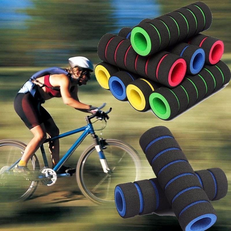 Downhill Mountain Aluminium Alloy Bike Hand Grips Bike Tube Comfortable Handlebar Grip Cover Bicycle Accessories for for MTB BMX Folding Bike