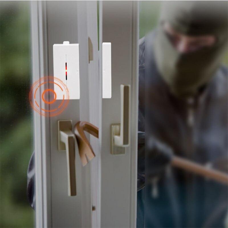 Système d'alarme de Vibration de fenêtre de porte de sécurité à la maison Anti-vol Wifi détecteur de mouvement intelligent capteur XXM8