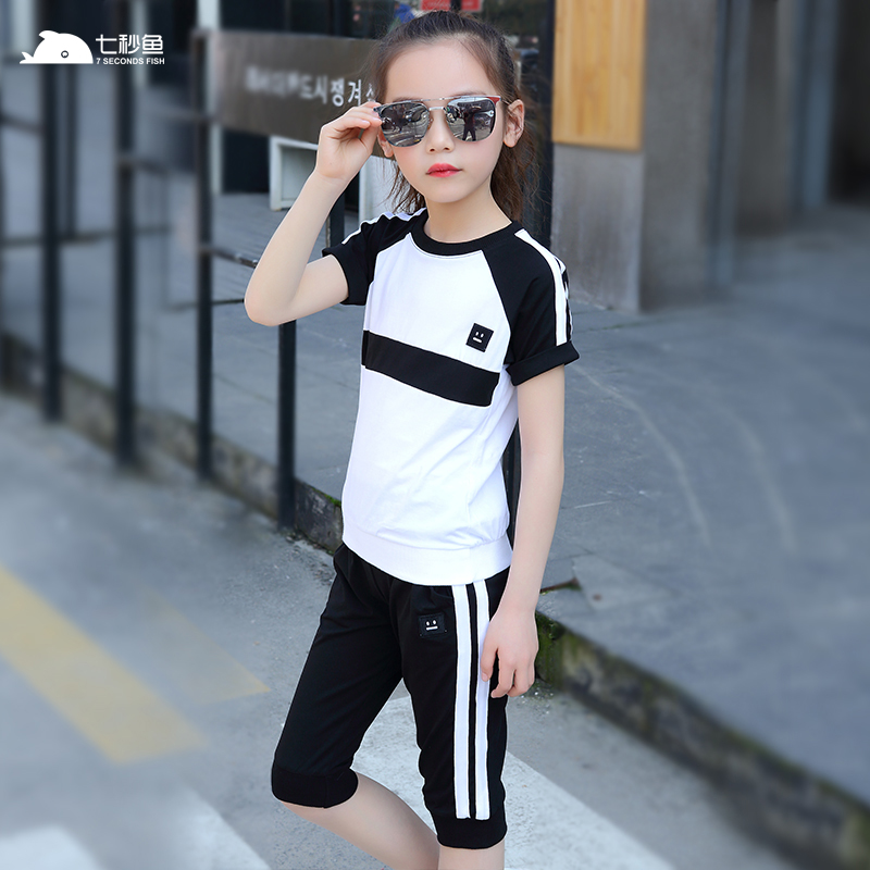 baby girl summer clothes 2019 girls clothing set teenage 2 pieces sport toddler sets