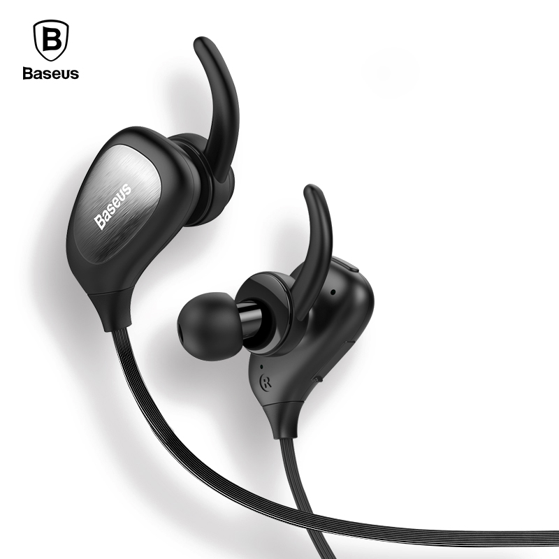 Baseus S02 Auriculares Wireless Bluetooth Headphone With Microphone Sport Running Stereo Casque Headset For Phone Fone De Ouvido b3300 auriculares bluetooth earphone headphones sport running stereo earpiece wireless headset fone de ouvido for mobile phone