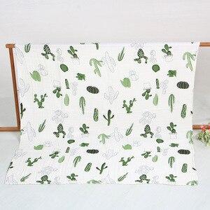 Image 3 - ขนาดใหญ่ 120*150/150*200 ซม.สี่ชั้นผ้าฝ้าย/ไม้ไผ่ muslin ผ้าห่มเด็ก swaddle wrap สำหรับทารกแรกเกิดผ้าห่ม